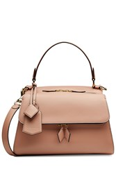 Victoria Beckham Small Pocket Leather Tote Beige