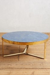 Anthropologie Lirit Coffee Table Navy