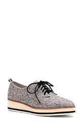 Ed Ellen Degeneres Women's By 'Oberlin' Oxford Black White Fabric