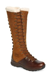 Woolrich Crazy Rockies Iii Lace Up Knee High Boot Ginger Leather