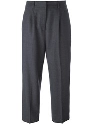 Ymc Cropped Trousers Grey