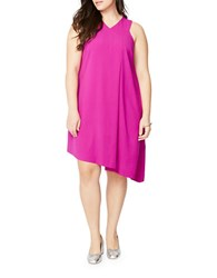 Rachel Rachel Roy Plus Asymmetrical Trapeze Dress Red