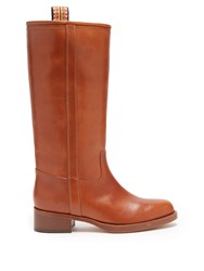Etro Leather Boots Tan