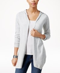 G.H. Bass And Co. Long Sleeve Hooded Cardigan