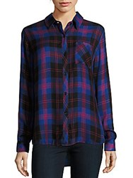 Rails Hunter Plaid Shirt Electric Blue