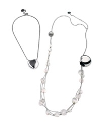 Breil Milano Breil Necklace Stainless Steel And Mother Of Pearl Adjustable Necklace