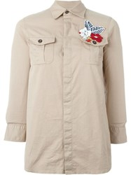 Dsquared2 Appliqua Shirt Nude And Neutrals