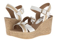 Spring Step Frappe White Leather Women's Dress Sandals