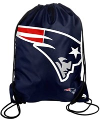 Forever Collectibles New England Patriots Big Logo Drawstring Bag Team Color