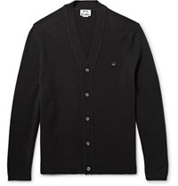 Acne Studios Dasher Wool Cardigan Black