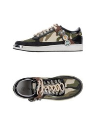 Frankie Morello Low Tops And Trainers Military Green