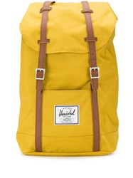 Herschel Supply Co. Retreat Contrasting Strap Backpack Yellow