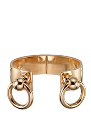 Mawi Bondage Cuff With Nipple Rings Gold