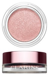 Clarins 'Ombre Iridescente' Cream To Powder Iridescent Eyeshadow Silver Rose 09