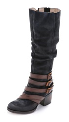 Freebird Jules Harness Tall Boots Navy