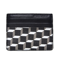 Pierre Hardy Canvas Cube Cardholder Black