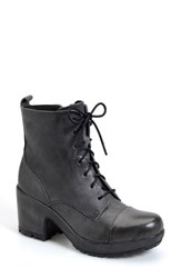 Women's Kork Ease 'Cona' Military Boot Celtico Leather