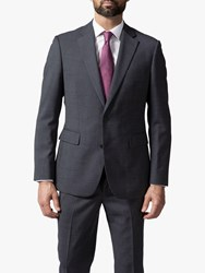 Chester Barrie By Micro Puppytooth Travel Suit Jacket Grey