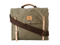 Will Leather Goods Wax Canvas Messenger Olive Messenger Bags