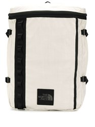 The North Face Contrast Trim Backpack White