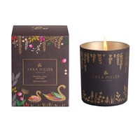 Sara Miller Printed Glass Soy Wax Candle 240G Patchouli Cedar And Thyme