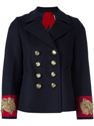 Dondup 'Luciae' Military Jacket Blue