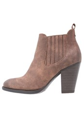 Anna Field Ankle Boots Taupe Light Brown