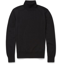 Boglioli Rollneck Wool Sweater Black