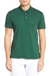 Velvet By Graham And Spencer Men's Bryant Jersey Polo Chervil