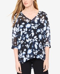 Motherhood Maternity Floral Print Tunic Blue Ditsy