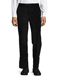 Saks Fifth Avenue Velvety Corduroy Trouser Black