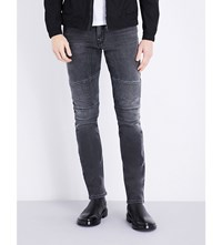 Belstaff Eastham Slim Fit Skinny Jeans Charcoal