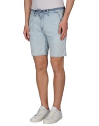 Ag Adriano Goldschmied Denim Bermudas Blue