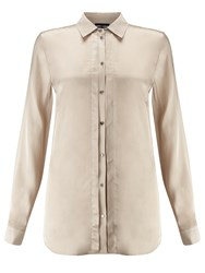 Gerry Weber Satin Shirt Sand