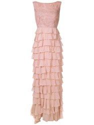 Martha Medeiros Leonora Lace Panelled Gown 60