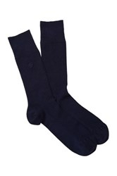 Gant Ribbed Socks Blue