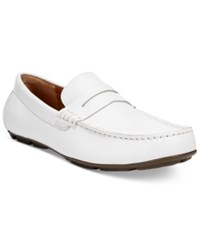 Alfani Men's Derek Drivers Men's Shoes White