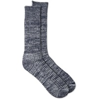 Universal Works Marl Sock Navy