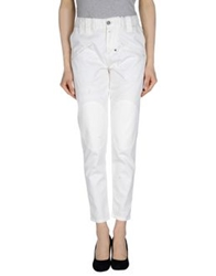 Get Lost Casual Pants White