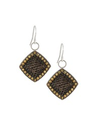 Jude Frances Judefrances Jewelry Pave Smoky Topaz And Champagne Citrine Earring Charms Women's