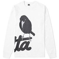 Patta Long Sleeve Raaf Tee White