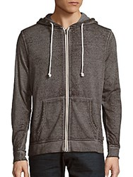 Threads For Thought Burnout Long Sleeve Hoodie Heather Grey