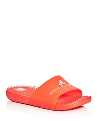 Adidas By Stella Mccartney Recovery Slide Sandals Red