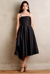Anthropologie Ivah Midi Gown Black