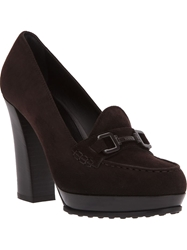 Tod's High Heel Pump Brown
