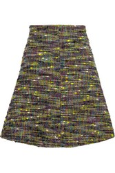Just Cavalli Cotton Blend Tweed Mini Skirt Multi
