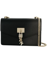 Donna Karan Large Elissa Shoulder Bag Black