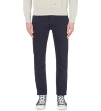 Levi's 519 Bedford Slim Fit Tapered Corduroy Trousers Navy