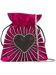Les Petits Joueurs Trilly Heart Cupid Bag Pink And Purple