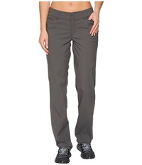 Exofficio Venture Pants Dark Pebble Women's Clothing Brown